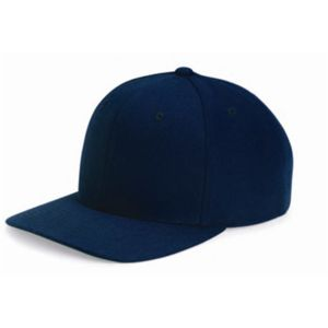 Wool Blend Flat Bill Snapback Cap Thumbnail