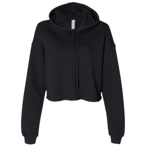 Women's Cropped Fleece Hoodie Thumbnail