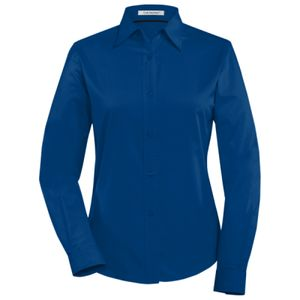 COAL HARBOUR EASY CARE LONG SLEEVE WOVEN LADIES' SHIRT Thumbnail
